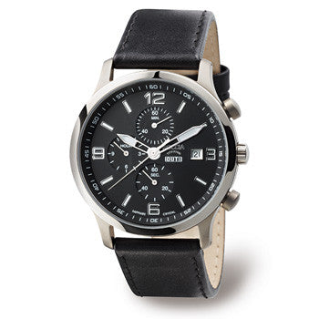 3776-01 Mens Boccia Titanium Chronograph Watch