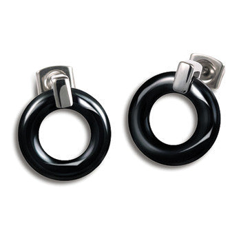 0583-02 Boccia Titanium Earrings