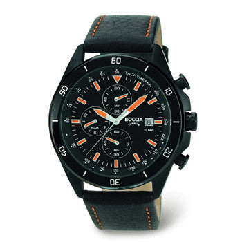 3762-05 Mens Boccia Titanium Chronograph Watch