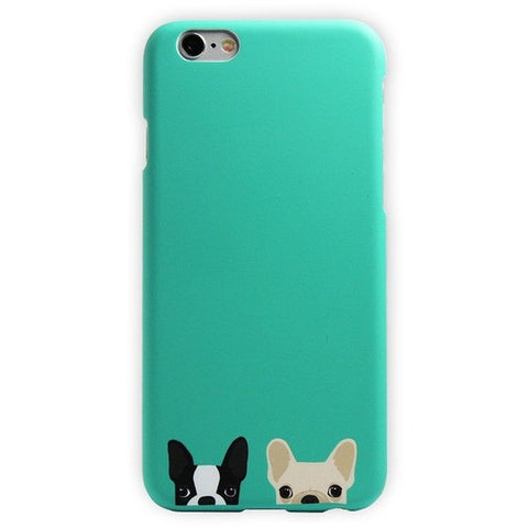 Best Friends Silicon Phone Cases For iPhones - Just Love Dogs