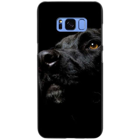Big Ole' Brown Eyes Labrador Retriever Silicone Phone Cases For Samsung