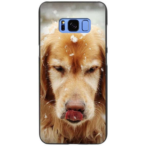 Snowy The Labrador Retriever Silicone Phone Cases For Samsung