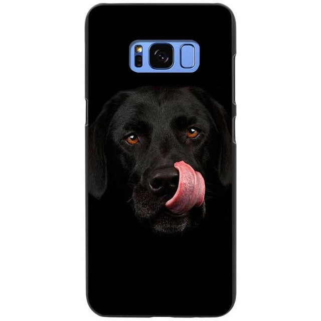 Is It Dinner Time Labrador Retriever Silicone Phone Cases For Samsung