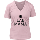 Lab Mama V-Neck TShirt