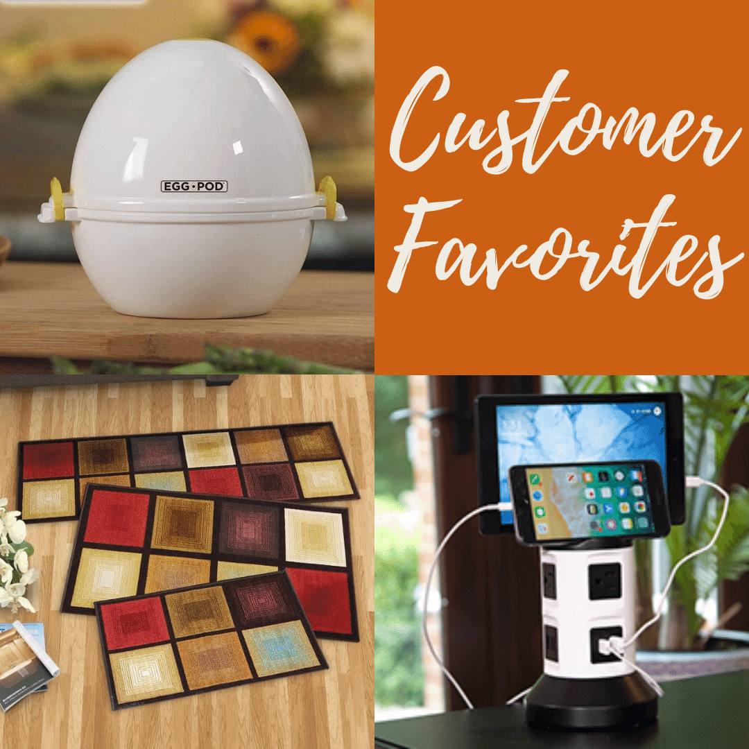 Customer Favorites and most popular gifts