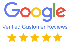 Check out our Google Customer Reviews