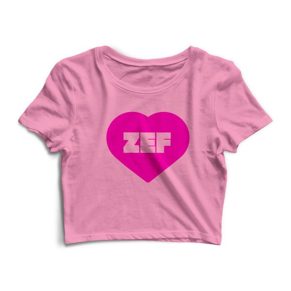 PINK ZEF Crop Top