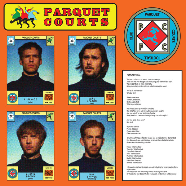 Parquet Courts - Total Football 7""