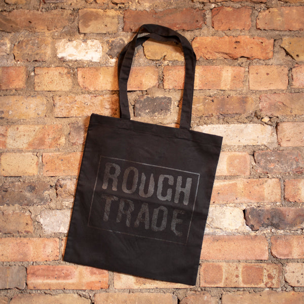 Rough Trade Black Logo Tote