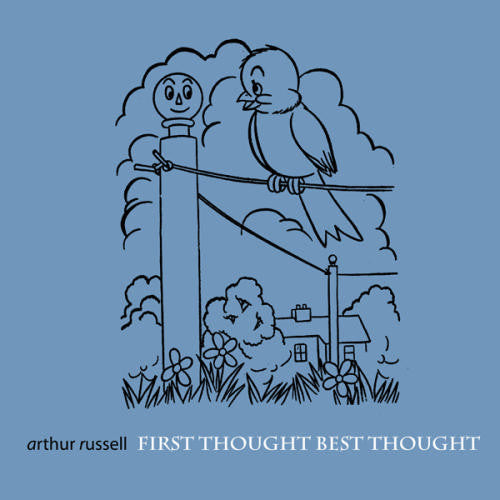 Arthur Russell 'First Thought Best Thought' CD