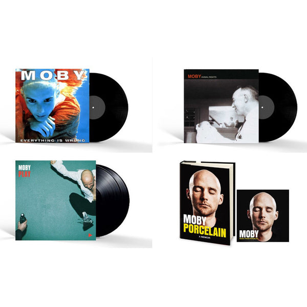 Moby - Limited Edition Signed Porcelain Box Set