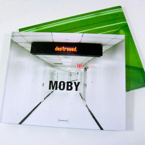 Destroyed Book + CD Album