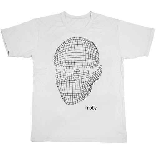 Face Tee In White
