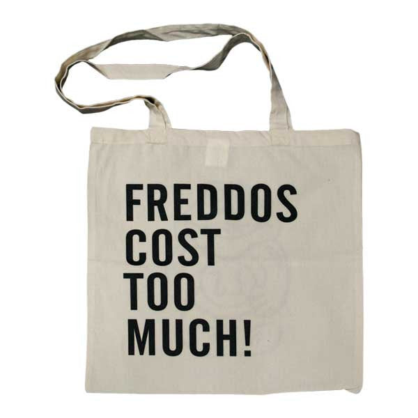 FREDDOS NATURAL TOTE BAG