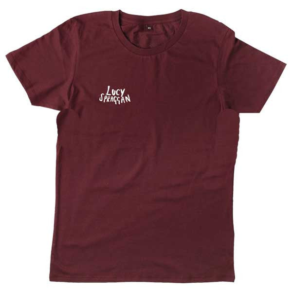 DEAR YOU TOUR 2017 BURGUNDY T-SHIRT