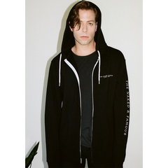 Stripped Cover Hoodie