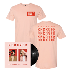 Recover T-Shirt Bundle (CD or Vinyl)