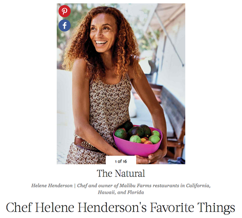 Link to Martha Stewart Article and Chef Helene's pick of Open The Kimono