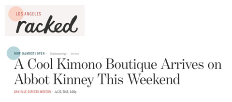 Link to Racked Article on Open The Kimono