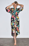 Kimono, robe, beach cover up handmade in Venice, CA. Female owned business. Perfect of a vacation getaway.