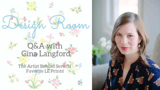 Design Room: Q&A with Artist Gina Langford