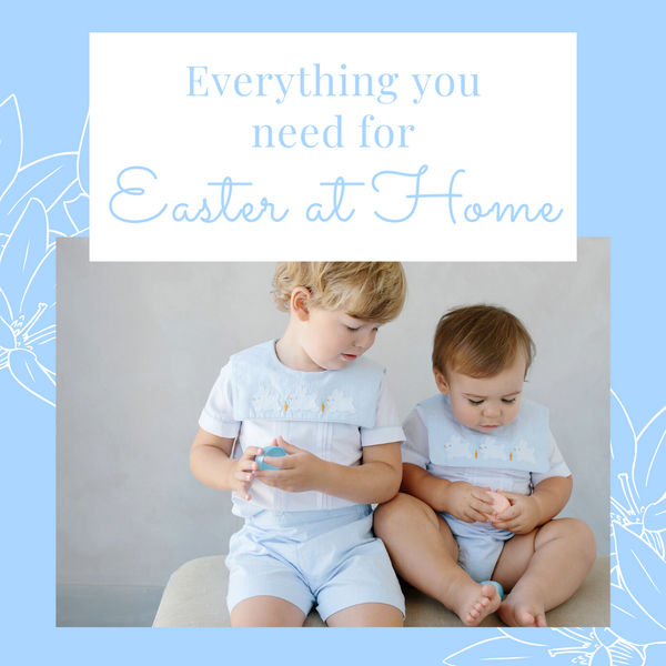Everything You Need for an Easter at Home!