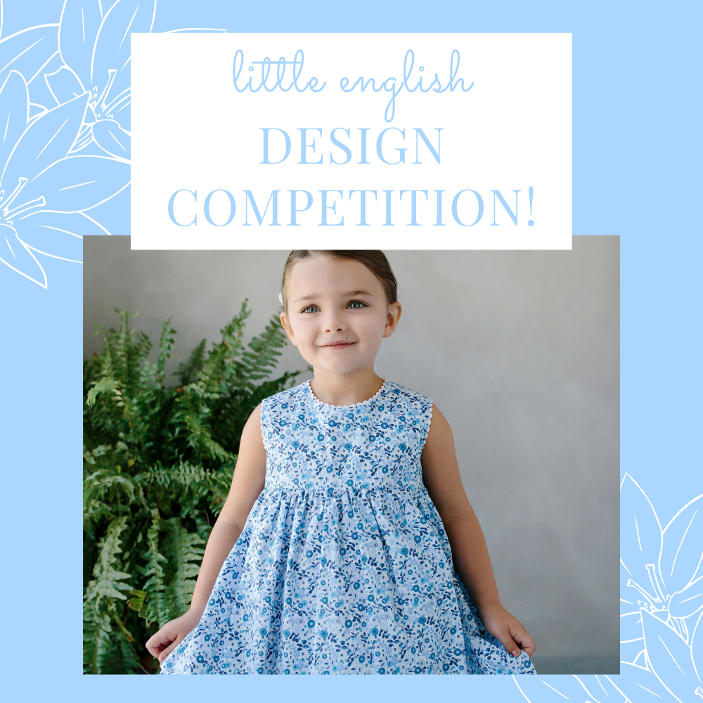 Little English Design Competition!