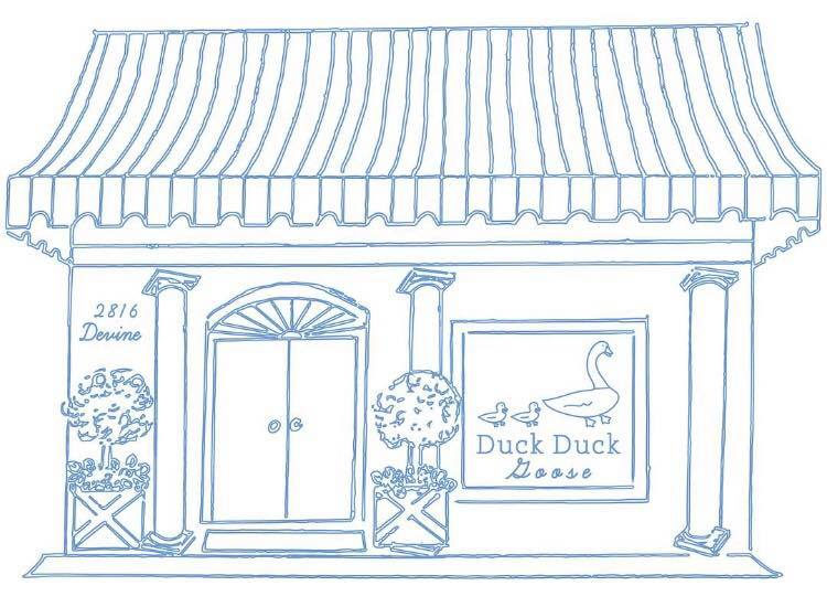 duck duck goose Little English clothing