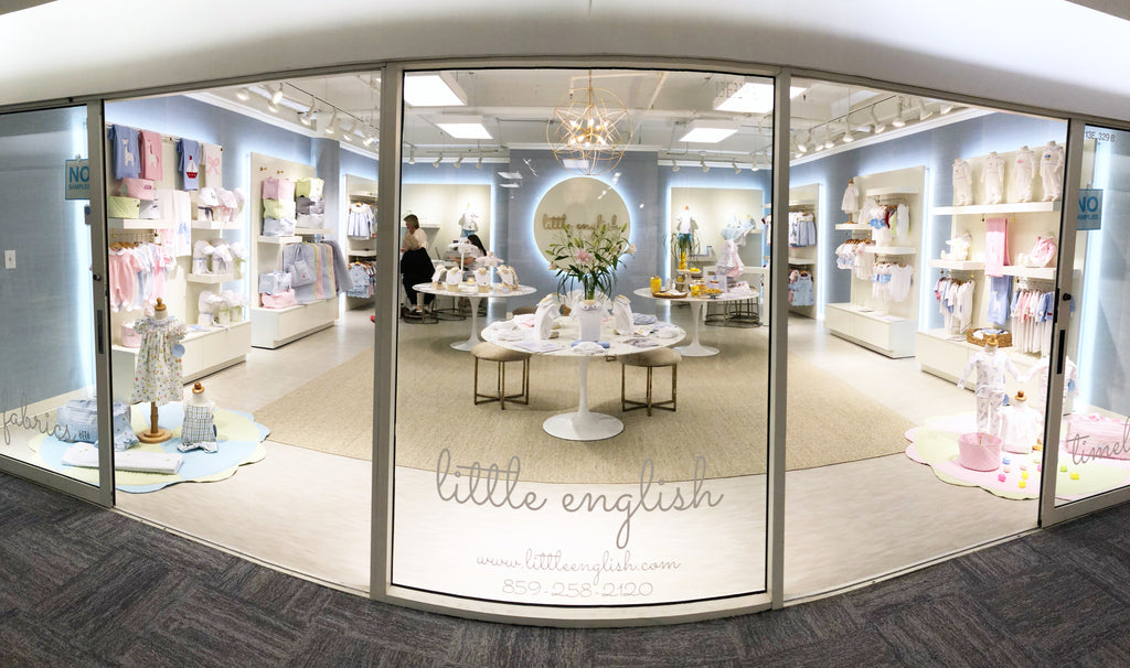 Little English corporate showroom Americasmart Atlanta, GA classic children's clothing