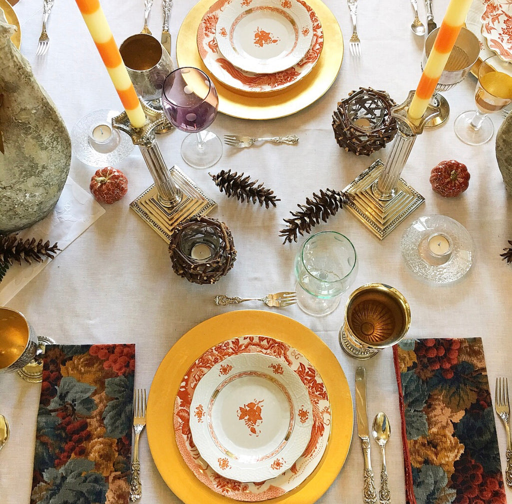 Shannon Latham, table scape, how to style a table, dining room table decor