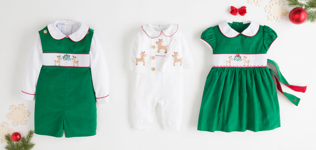 Little English Reindeer Smocked Collection