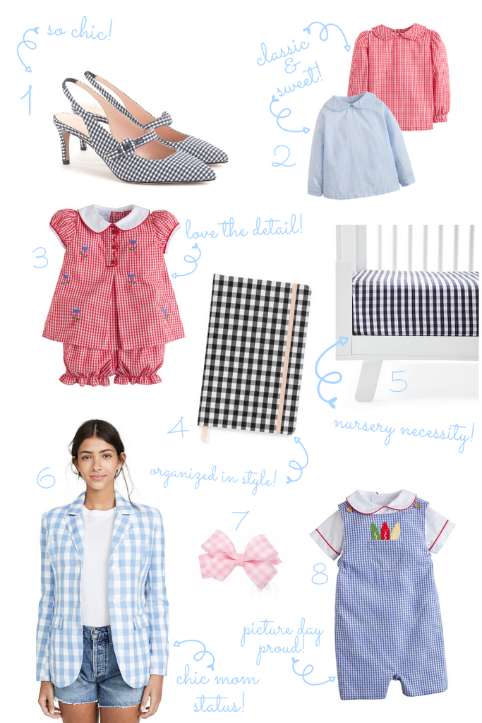 wishlist gaga for gingham