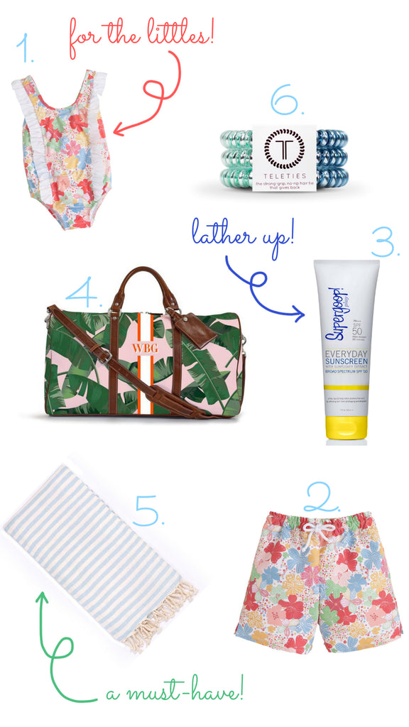 Little English, spring break wish list, spring wish list, Barrington gifts, supergoop