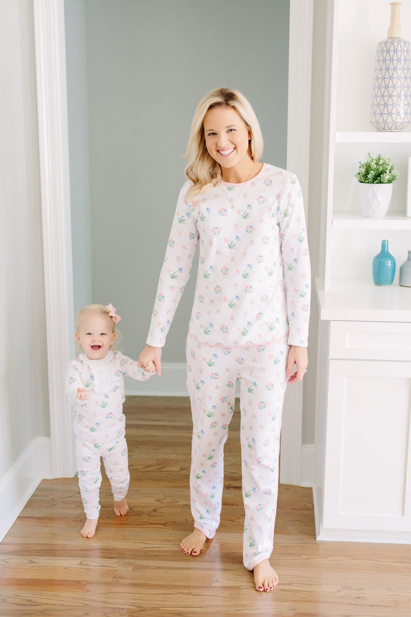 Mama'stay Jammies - Chelsea Garden, Little English, classic children's clothing, preppy children's clothing, traditional children's clothing, classic baby clothing, traditional baby clothing