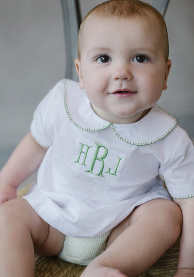 Whipstitch Day Shirt, Little English, classic children's clothing, preppy children's clothing, traditional children's clothing, classic baby clothing, traditional baby clothing