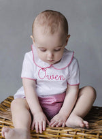 Whipstitch Day Shirt, Little English, Little English, classic children's clothing, preppy children's clothing, little English clothing, classic baby clothing, traditional children's clothing, children's clothing, baby clothing