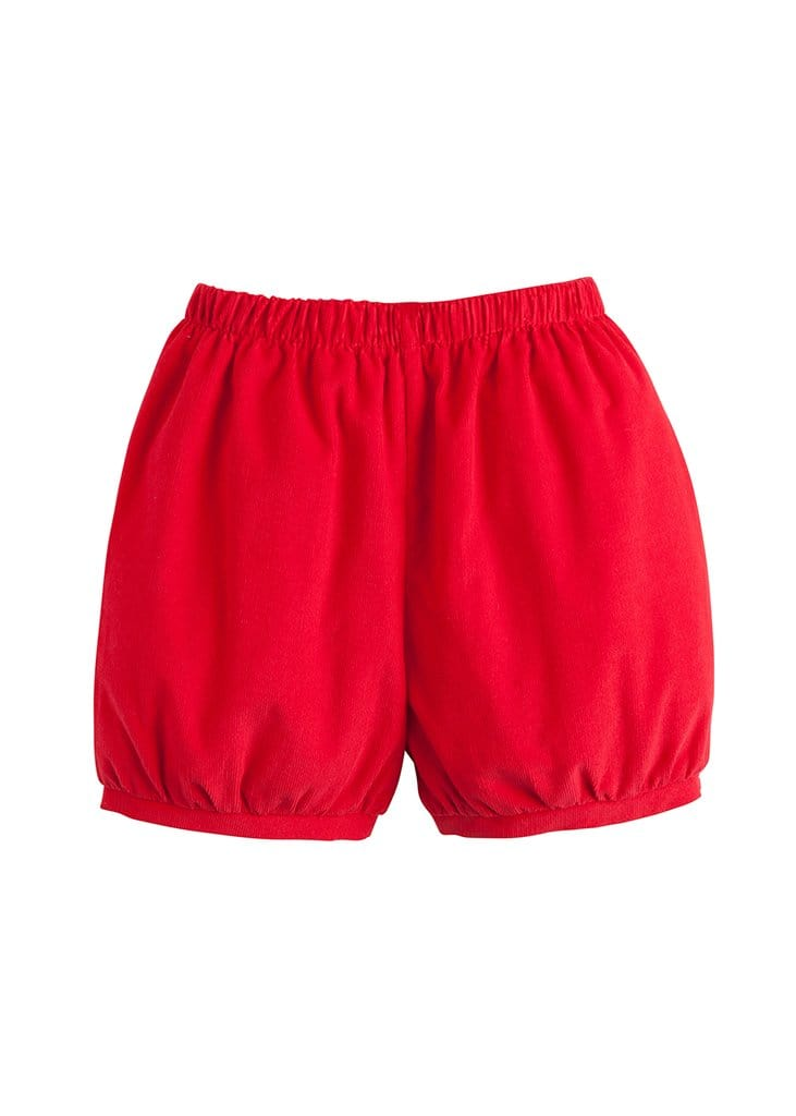 Banded Short - Red Corduroy, Little English, classic children's clothing, preppy children's clothing, traditional children's clothing, classic baby clothing, traditional baby clothing