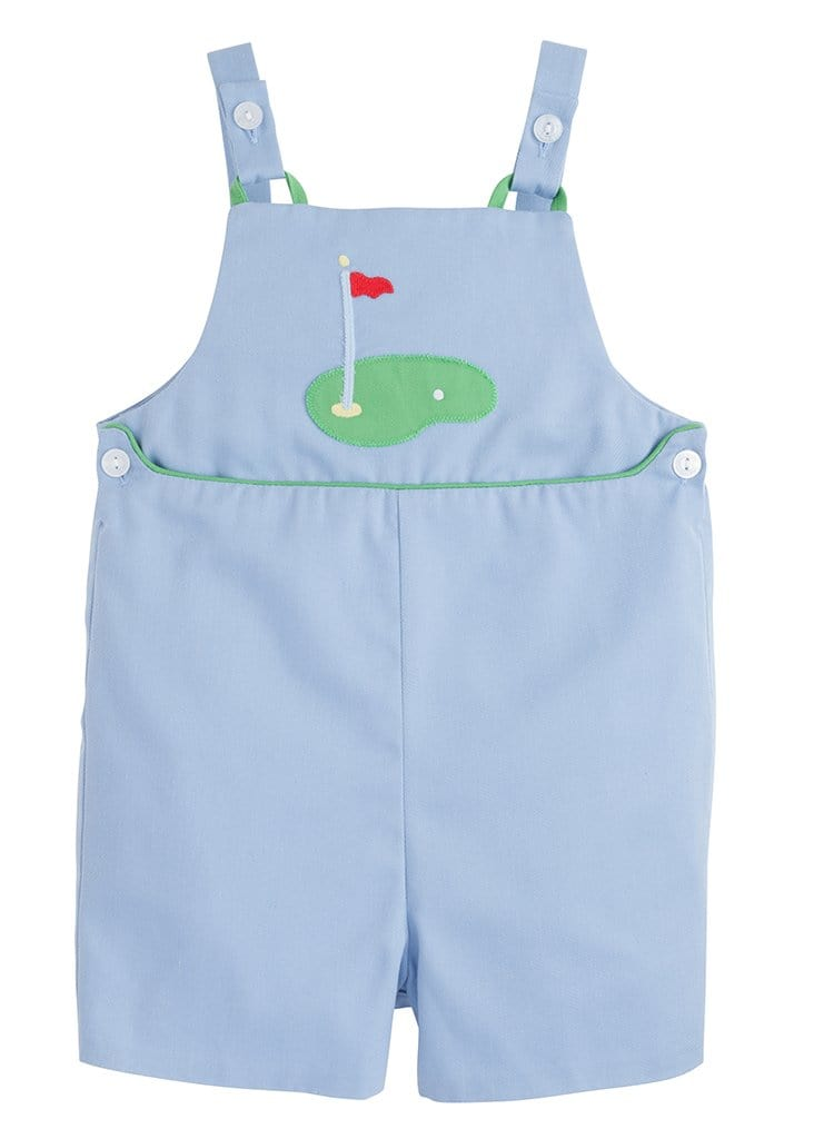 Little English boys blue golf shortall