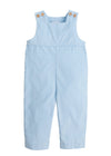 Basic Overall - Light Blue, Little English, classic children's clothing, preppy children's clothing, traditional children's clothing, classic baby clothing, traditional baby clothing