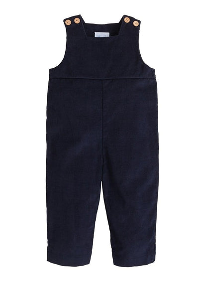 Basic Overall - Navy, Little English, classic children's clothing, preppy children's clothing, traditional children's clothing, classic baby clothing, traditional baby clothing
