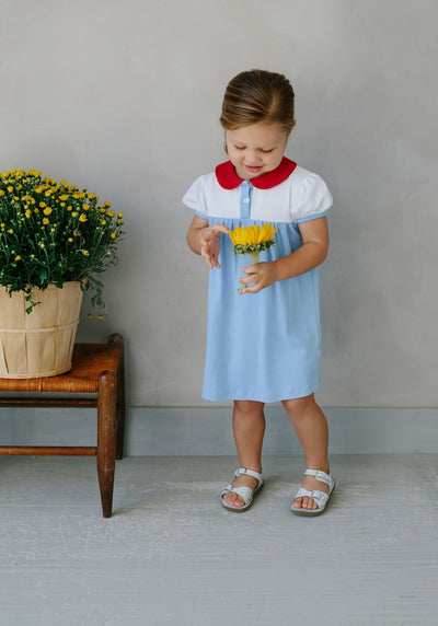 Block Party Dress, Little English, classic children's clothing, preppy children's clothing, traditional children's clothing, classic baby clothing, traditional baby clothing