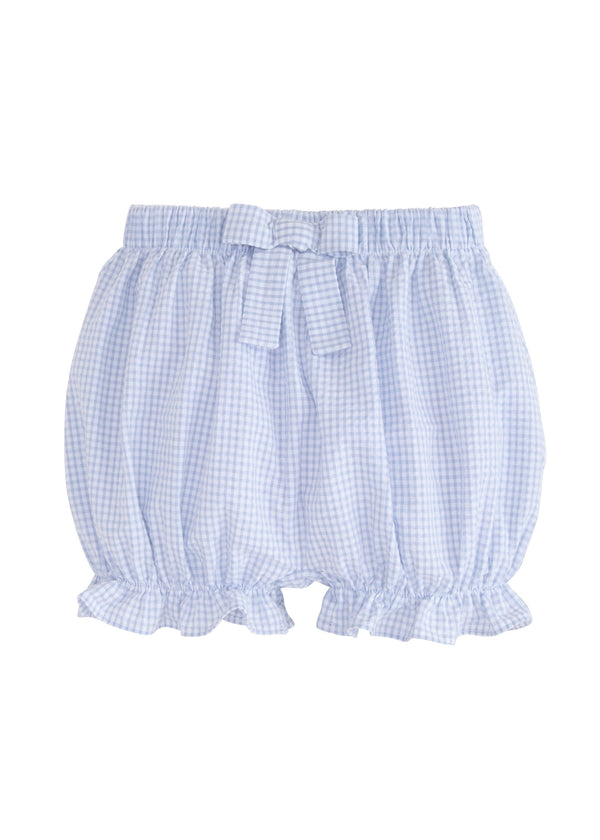 Little English classic baby girl's gingham bloomers