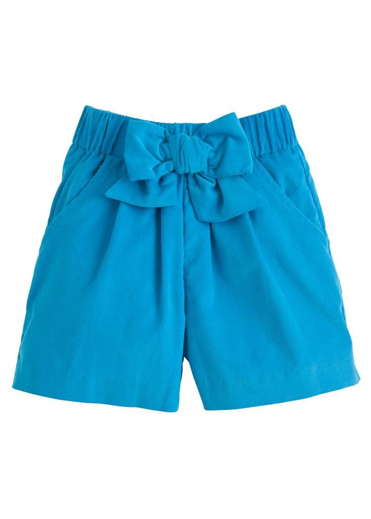 Little English classic girl's bow short
