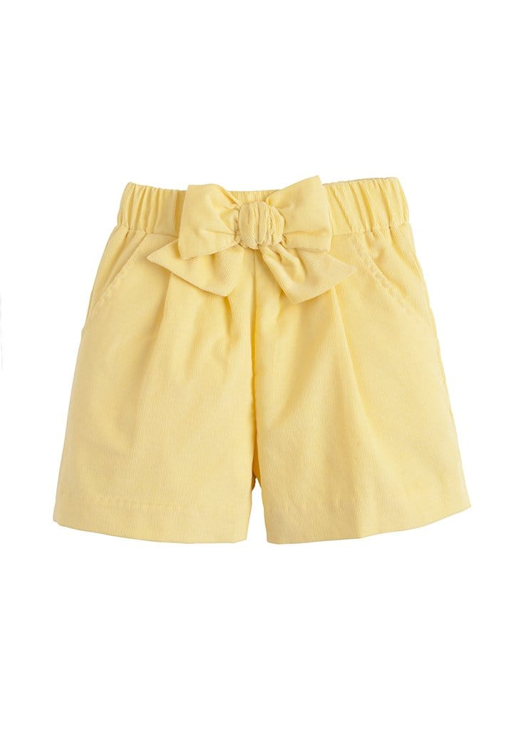 Bow Short - Buttercup, Little English, classic children's clothing, preppy children's clothing, traditional children's clothing, classic baby clothing, traditional baby clothing