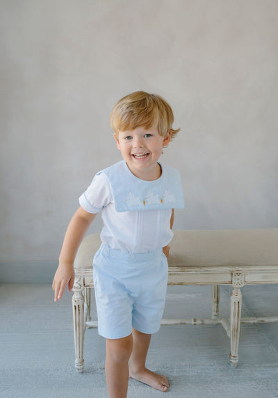 Bunny Jack Short Set, Little English, classic children's clothing, preppy children's clothing, traditional children's clothing, classic baby clothing, traditional baby clothing