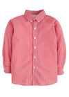 Button Down Shirt - Red Gingham