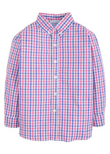 Button Down Shirt - Bar Harbor Gingham, Little English, classic children's clothing, preppy children's clothing, traditional children's clothing, classic baby clothing, traditional baby clothing