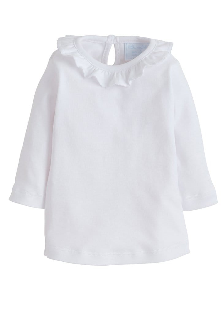 Caroline Knit Blouse - White