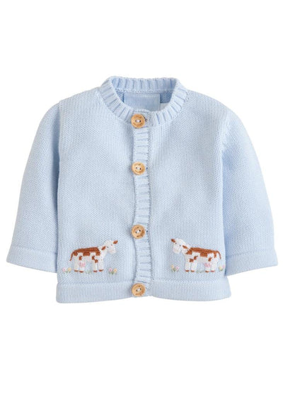 Little English classic crochet sweater, traditional children's clothing