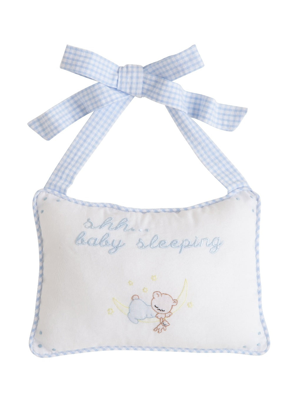 Door Pillow - Baby Boy, Little English, classic children's clothing, preppy children's clothing, traditional children's clothing, classic baby clothing, traditional baby clothing